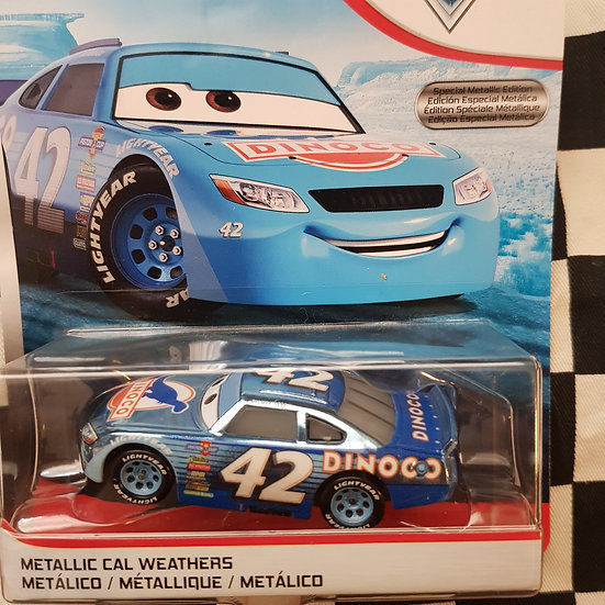 Disney Cars Scavenger Hunt Chase Metallic Cal Weathers