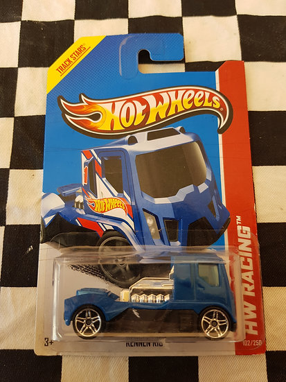 HOTWHEELS ERROR Rennen Rig (no side decals)