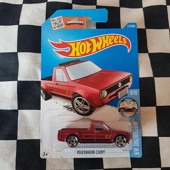 Hot Wheels 2015 Showroom Volkswagen Caddy Red