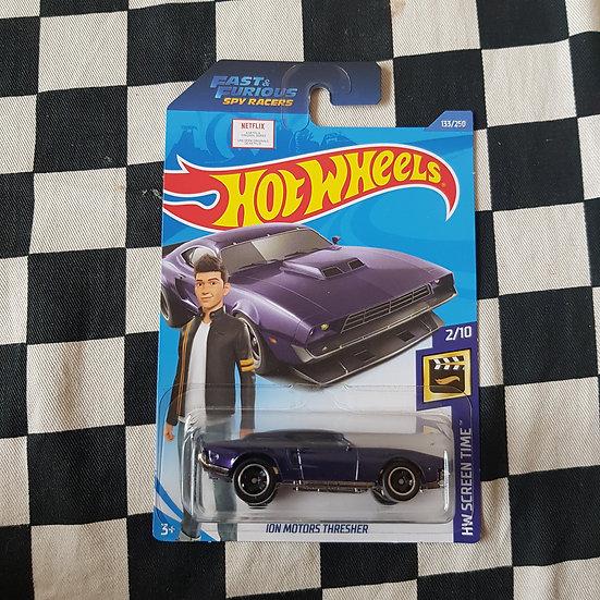 Hot Wheels 2020 Screen Time Ion Motors Thresher Purple