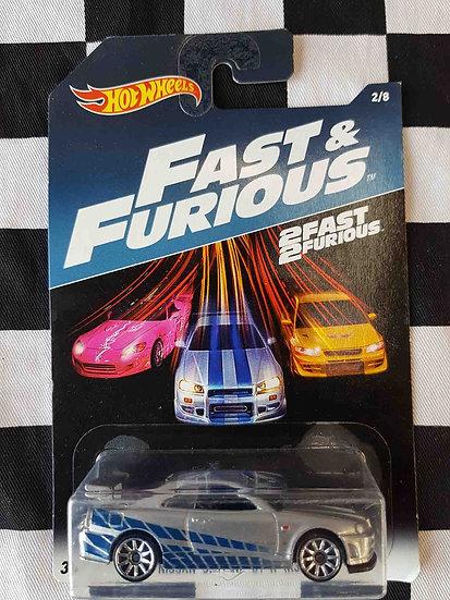 Hot Wheels Fast & Furious Nissan Skyline GT-R R34