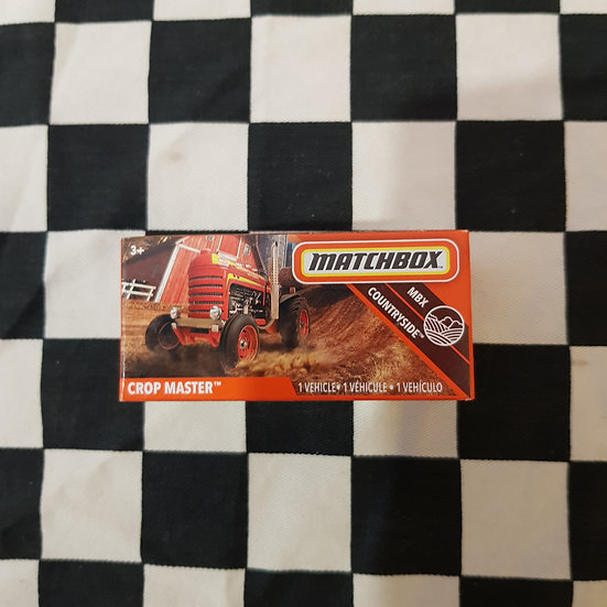 Matchbox Power Grab Mbx Crop Master Tractor