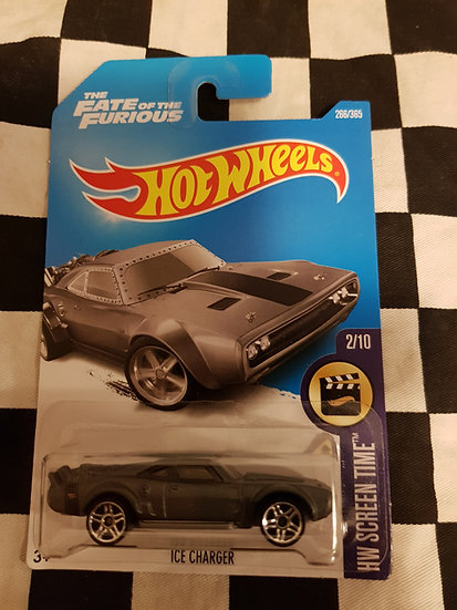 Hotwheels (2015) ICE CHARGER The Fate of the Furious