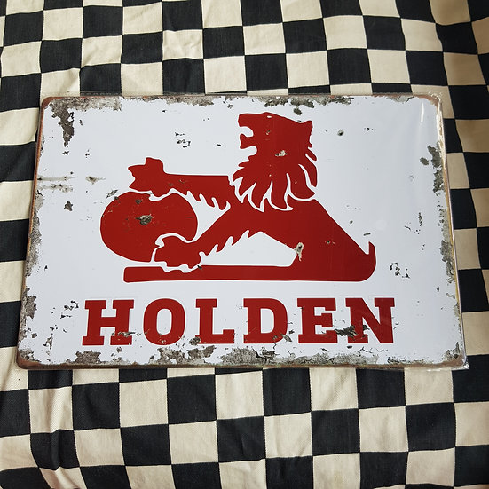 Tin Sign Repro 20x30 Old Holden