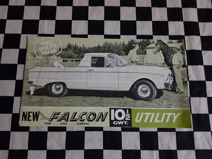1962 Falcon XL Utility Sales Brochure