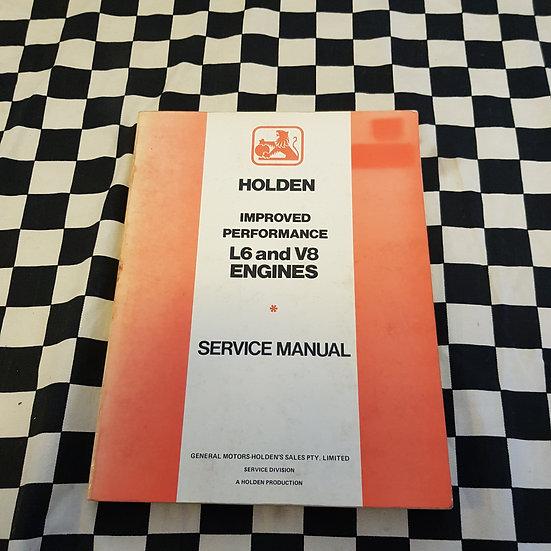 Genuine Holden Improved Performance (Blue Motor) 6 Cyl & V8 Workshop Manual