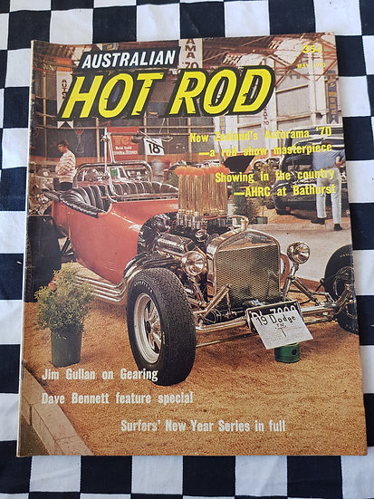 AUSTRALIAN HOT ROD may 1970