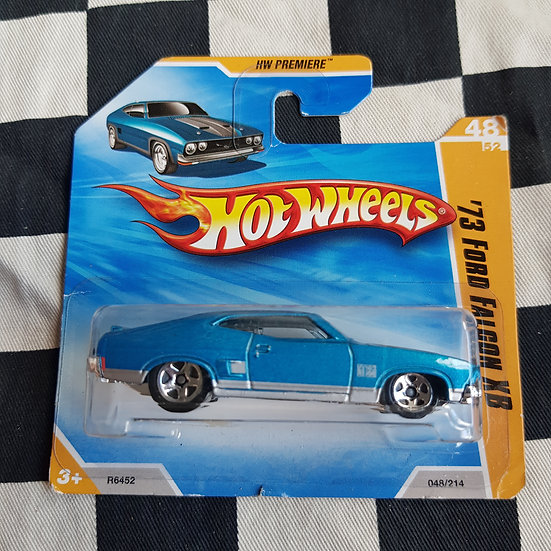 Hot Wheels 2010 First Edition 73 Ford Falcon XB Short Card