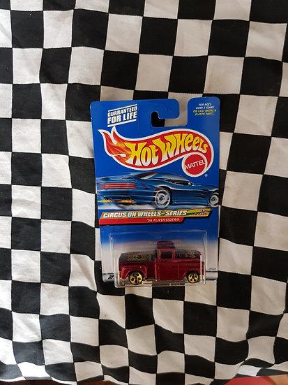 Hot Wheels 1999 Circus on Wheels Series 56 chev Flashsider