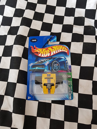 Hot Wheels 2004 Fat Bax Don Prudhomme THE SNAKE Plymouth Barracuda