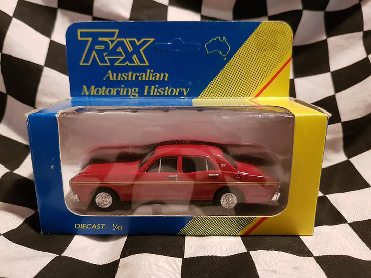 Trax 8005 XT GT Ford Falcon Candy Red