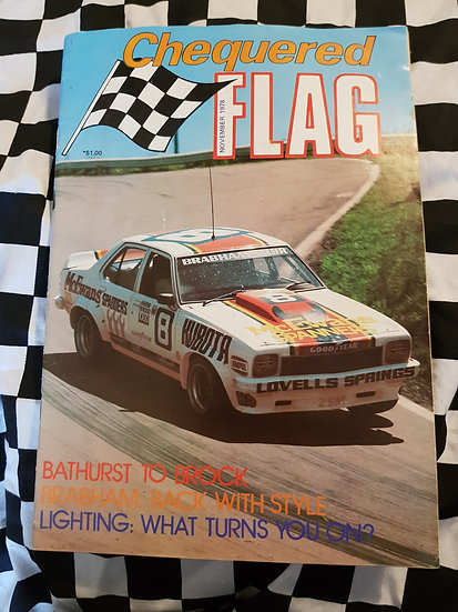 Chequered Flag magazine November 1978
