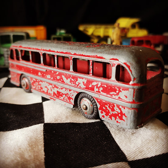 Vintage Dinky Duple Roadmaster Leyland Royal Tiger Bus