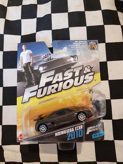 Fast & Furious 1:50 2010 Keonigsegg CCXR