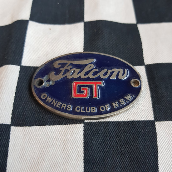 Falcon Gt Ownwers Club of NSW Badge