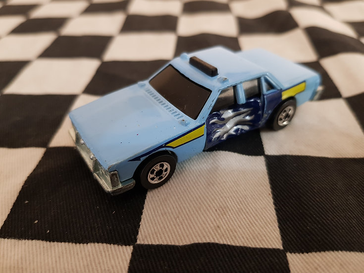 Vintage Hot wheels Crack Ups Mint Police Car