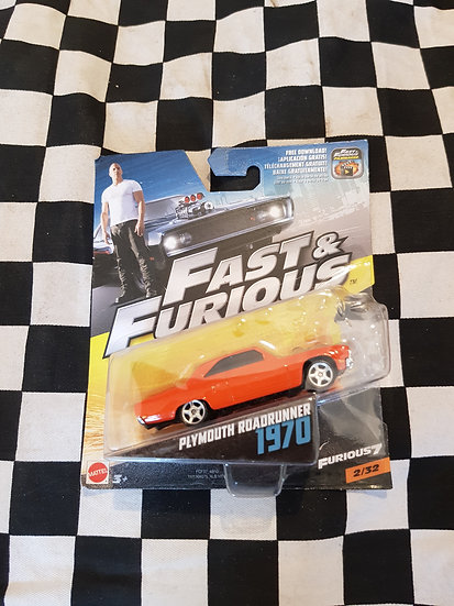 Fast & Furious 1:50 1970 Plymouth Roadrunner