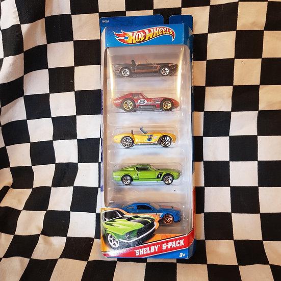 Hot Wheels Shelby 5 Pack Cobra Mustang GT500