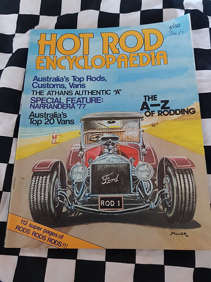 Hot Rod Encyclopedia Magazine 1977