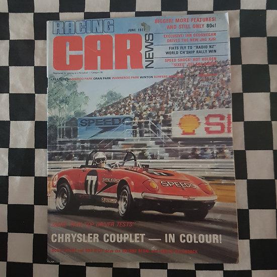 Racing Car News 6/77