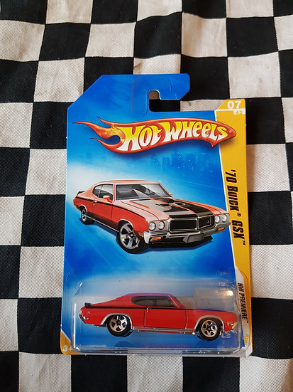 Hot Wheels 2009 first edition 70 Buick GSX