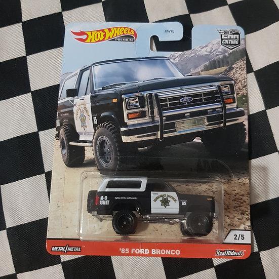 Hot Wheels Premium  Ford Bronco