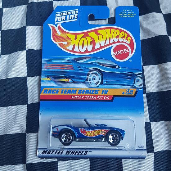 Hot Wheels 1997 Race Team IV Shelby Cobra 427 S/C