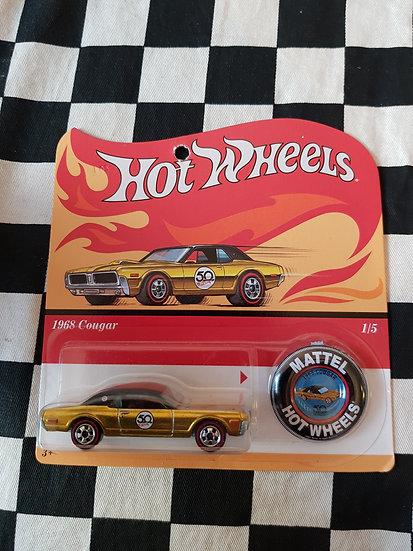 Hot Wheels 2018 50th Original Card 1968 Cougar