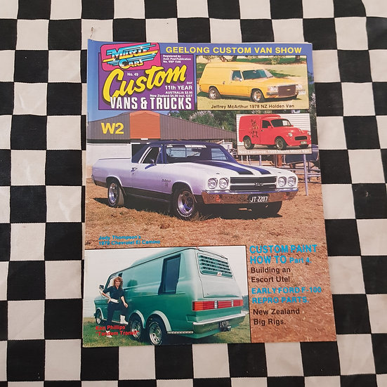 Custom Vans & Trucks Magazine #49