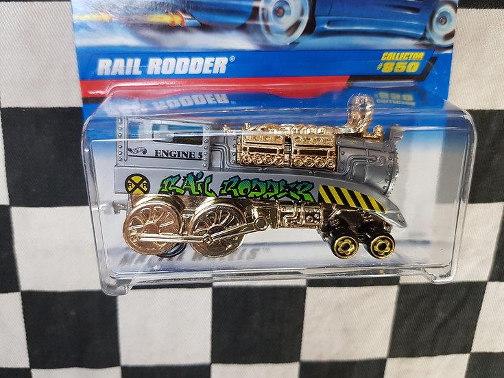 Hot Wheels 1997 #850 Rail Rodder Hotrod Train