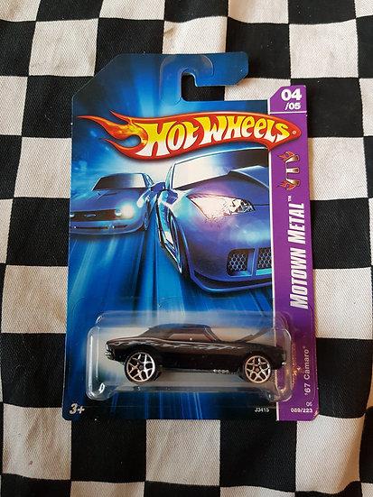 Hot Wheels 2006 Motwn Metal 67 Camaro
