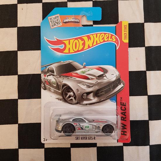 Hot Wheels 2013 Race SRT Viper GTS-R Silver