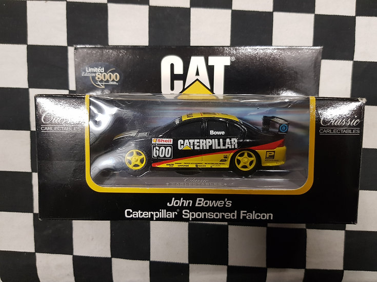 Classic Carlectables 1:43 John Bowe Caterpillar Racing Ford 2600