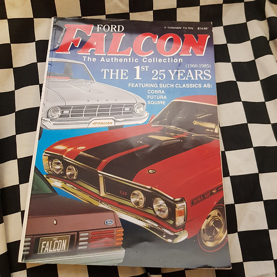 Ford Falcon the Authentic Collection 25 Years of Sales Brochures