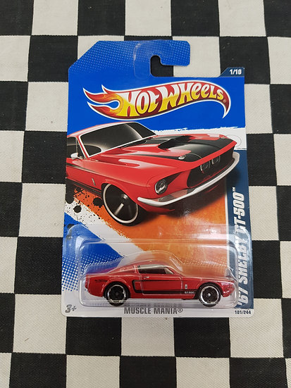 Hot Wheels 2011 Muscle Mania 67 Shelby GT500