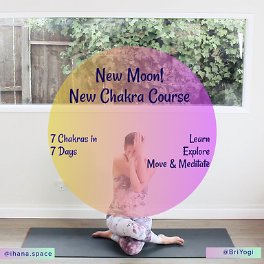 Brochure for Chakra Course