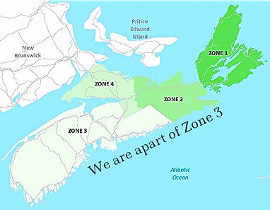 Nova Scotia Trail Zones