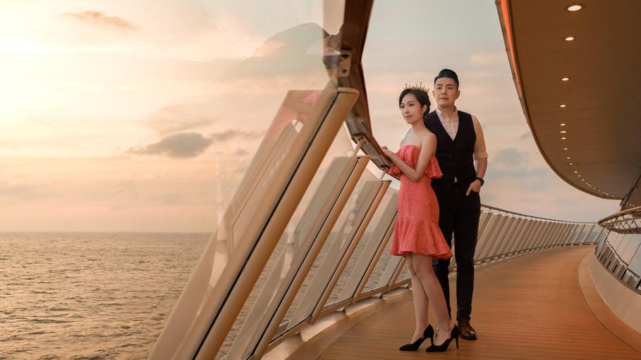 """DREAM CRUISE """"World Dream"""" 2020 Valentine's Day Promotion Campaign - KV"""