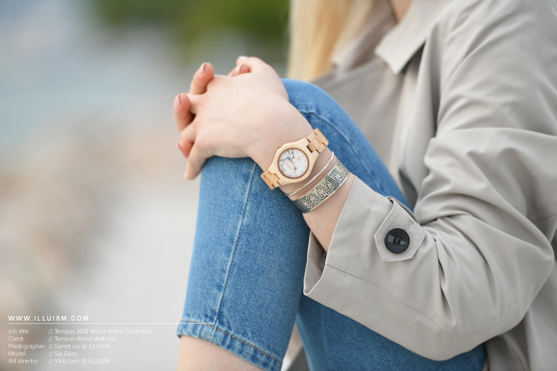 Tempus Wood Watch