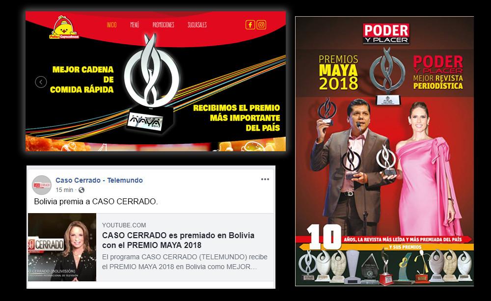 Premios Maya Bolivia