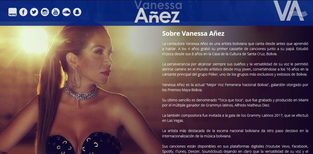Vanessa Añez Premio Maya Astro