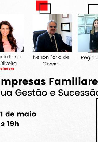 """Assista ao Bate Papo """"Empresas Familiares: A sua gestão e sucessão."""""""