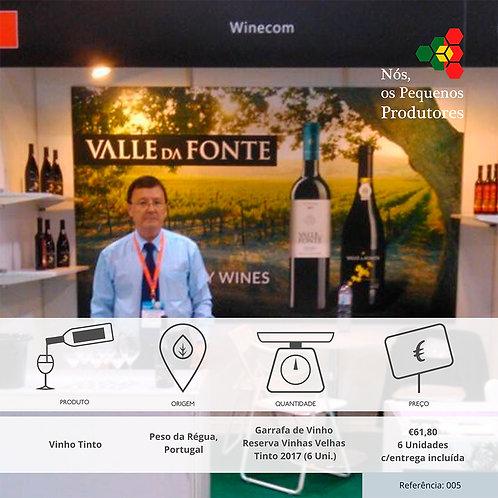 6 Garrafas de Vinho Valle da Fonte
