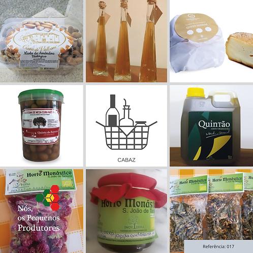 Cabaz com variedade de Produtos de Pequenos Produtores | Ref. 017
