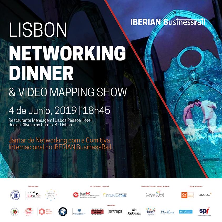 LISBON | IBERIAN BusinessRail Networking Dinner & Video Mapping Show