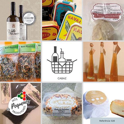 Cabaz com variedade de Produtos de Pequenos Produtores | Ref. 020