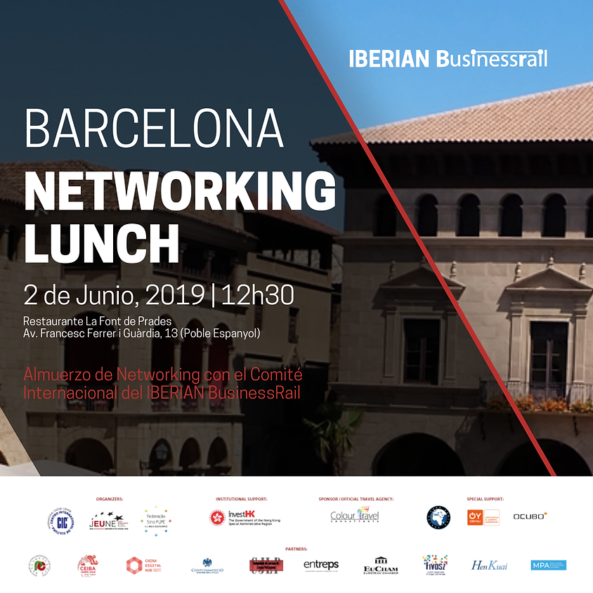 BARCELONA | IBERIAN BusinessRail Networking Lunch