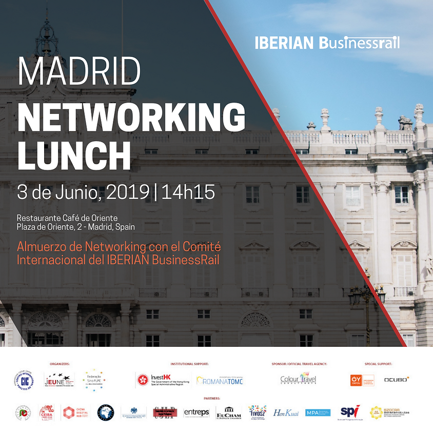 MADRID | IBERIAN BusinessRail Networking Lunch