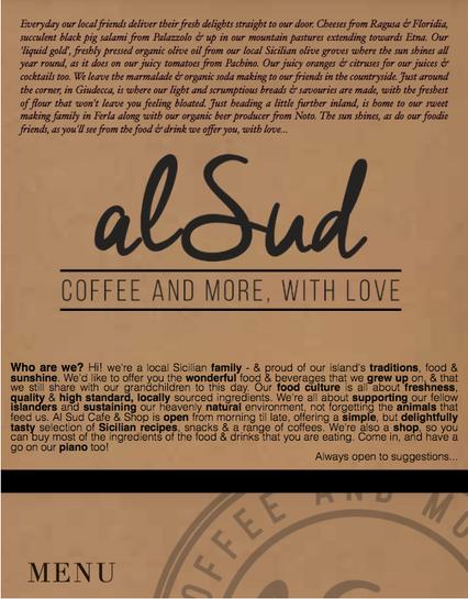 Al Sud Coffee & Cafe, Sicily