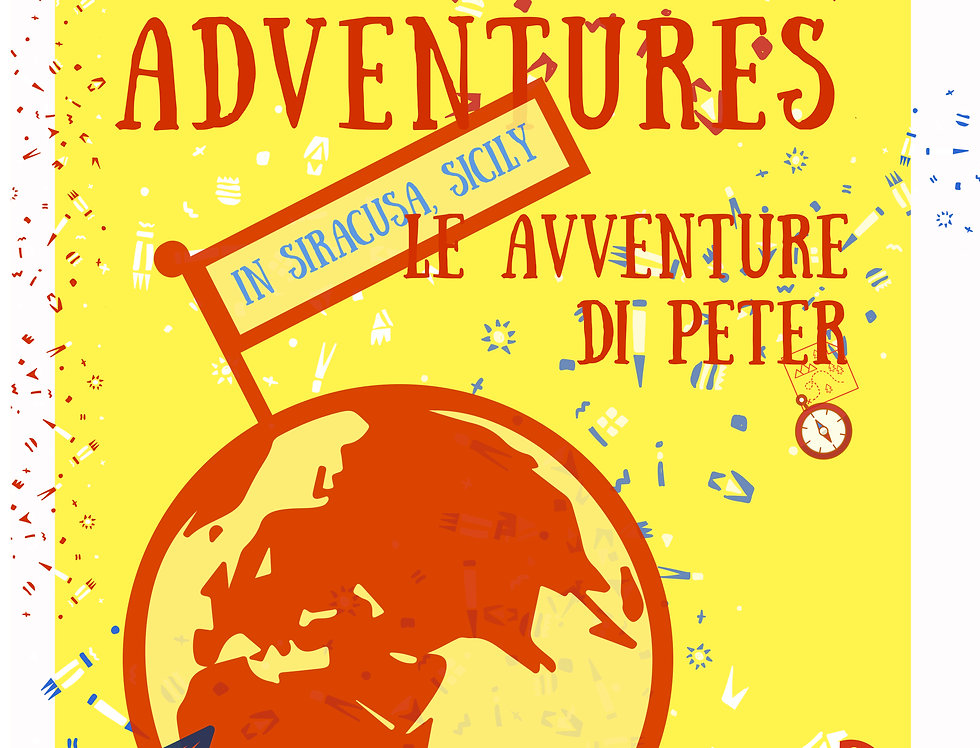 Book: Mr Peter Adventure's in Siracusa